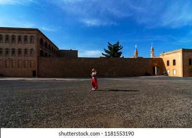 04.18.2018,Midyat,Mardin,Turkey,Mor Gabriel (Deyrulumur) Monastery - Mardin