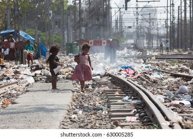 05.02.2017. India, Mumbai, Slums in India