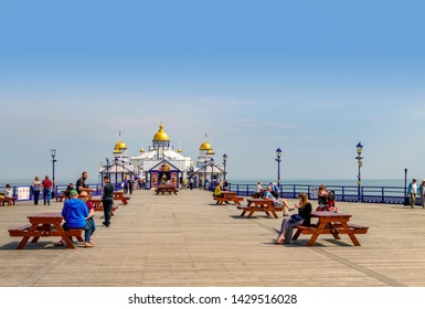05.22.2018. Sussex, UK. Eastbourne pier East Sussex