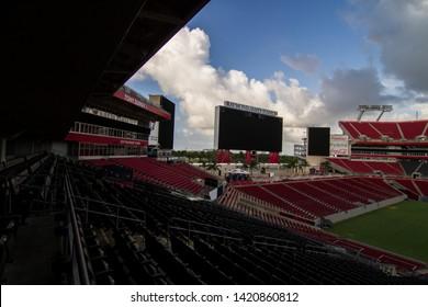 05-29-19  - TAMPA  - FLORIDA - USA - RAYMOND JAMES STADIUM AND BIG SCREEN