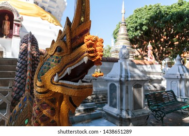 06.02.2019 Chinese New Year festival in Warorot Market or Kad Luang is a historical landmark in Chiang Mai Thailand