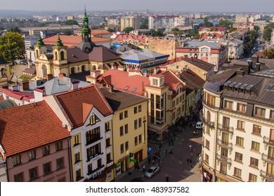 06.09.2016Ivano-Frankivsk,Ukraine. View of old city