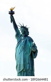 06.14.2013, New York, USA. Statue of Liberty.