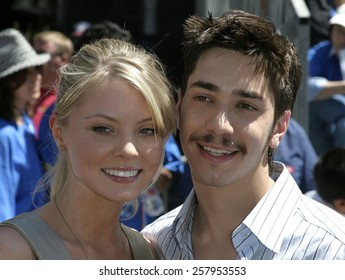 """06/19/2005 - Hollywood - Justin Long at the """"Herbie: Fully Loaded"""" Los Angeles Premiere at the El Capitan Theater in Hollywood, California."""