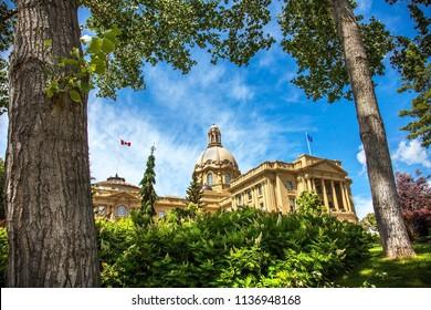 06.25.2018 Alberta Legislature Building Edmonton Alberta Canada