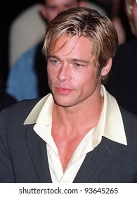 """06OCT97:  Actor BRAD PITT at the premiere  in Los Angeles of his new movie, """"Seven Years in Tibet."""""""