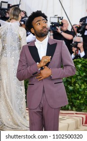 "07 May 2018 - New York, New York - Donald Glover aka Childish Gambino. 2018 Metropolitan Museum of Art Costume Institute Gala: ""Heavenly Bodies: Fashion and the Catholic Imagination"