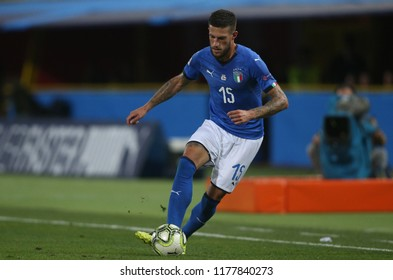 07.09.2018. Bologna, Italy: CRISTIANO BIRAGHI in action during the  match UEFA Nations League , Group 3, football match between ITALY V POLAND in DALL'ARA STADIUM IN BOLOGNA.