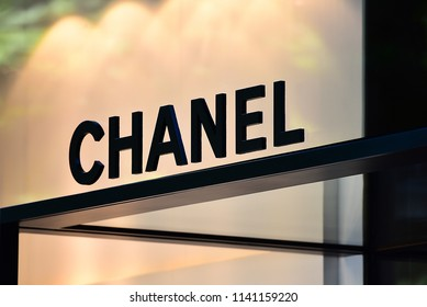 Düsseldorf,GERMANY-JUNE 07,2018:Chanel fashion store.