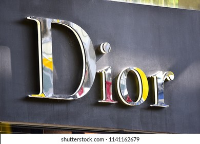 Düsseldorf,GERMANY-JUNE 07,2018:DIOR fashion store.