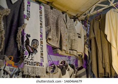 Zitácuaro, Michoacán/México; 07/20/2019:  Mexican handicrafts from the state of michoacan.