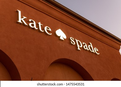 07/27/2019 - Los Angeles, CA: Kate&Spade store sign in Los Angeles, USA.