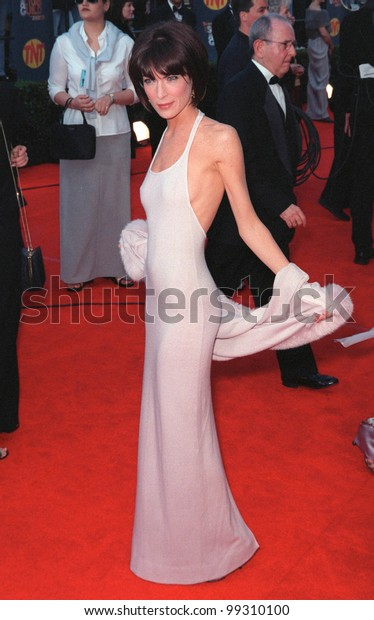 07MAR99: Actress LARA FLYNN BOYLE at the Screen Actors Guild Awards.  Paul Smith / Featureflash