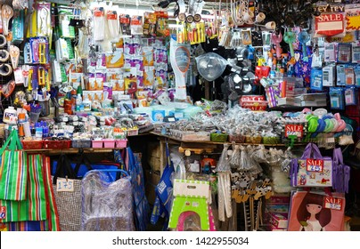 08 June 2019; Bangkok Thailand: Electric equipments and Home accessories shop at Chatuchak Jatujak JJ Weekend Market, The largest market in the world.