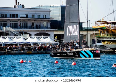 08.10 2018 Trieste Italy 50° Barcolana international traditional regatta