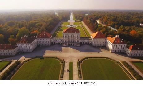 08.10.2018 Germany. Munich. Nymphenburg Palace