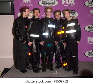 08DEC99: Pop group NSYNC at the Billboard Music Awards in Las Vegas.  Paul Smith / Featureflash