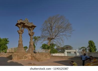 09 Apr 2015 Kirti Toran Near Sharmistha Talab, Ashapura, Mehsana District, Vadnagar, Gujarat INDIA asia