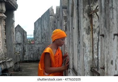 09.07.2013 Laos Vientiane Temple