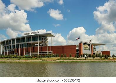 09-12-2016, Photograph of McLane Stadium, Located in Waco Texas