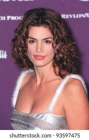 09DEC98:  Supermodel CINDY CRAWFORD at the 9th Annual Fire & Ice Ball in Hollywood to benefit the Revlon/UCLA Women's Cancer Research Program.           Paul Smith / Featureflash