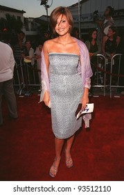 "09JUL98:  Model JENNIFER GIMENEZ at the world premiere, in Los Angeles, of ""There's Something About Mary."""