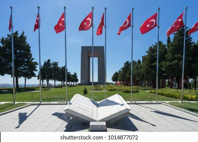 1 Aug 2017, Canakkale (Dardanelles) martyrs memorial monument in Gallipoli, Turkey