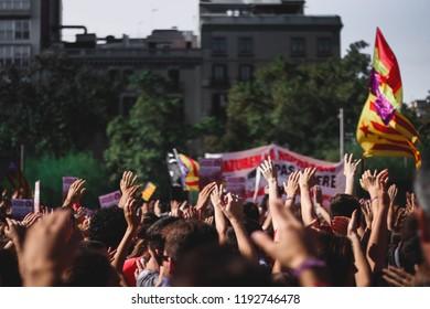 Manifestación 1 de Octubre de 2018