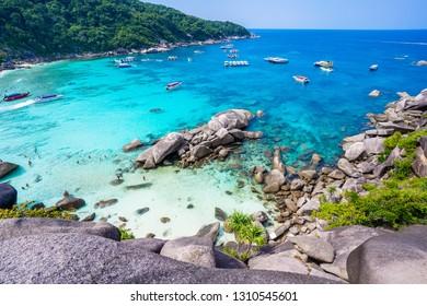 1 Febuary 2019-Thailand::Similan island in Phang-nga province,travel