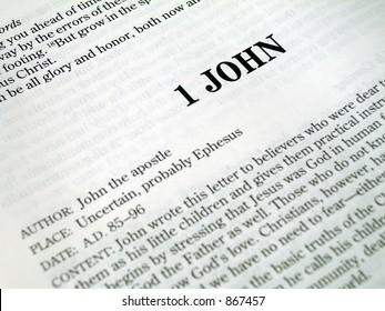 1 John Book Of The Bible