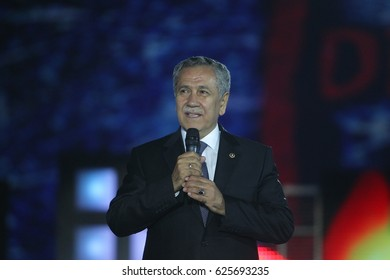 1 June 2013. Bursa, Turkey. Bulent Arinc  is a conservative Turkish politician. He served as the 22nd Speaker of the Parliament of Turkey from 2002 to 2007.