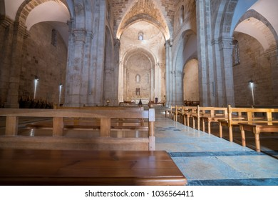 1 March 2018 - Old City of Jerusalem, Israel: Church of Saint Anne