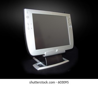 10 LCD Touchscreen panel, black background