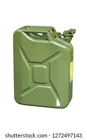 10 liter fuel tank  isolated with clipping path