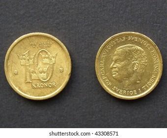 10 swedish krona coin