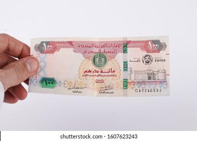 100 dirham , Hundred Dirham uae hand bay men