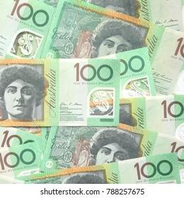 100 dollar Australian notes