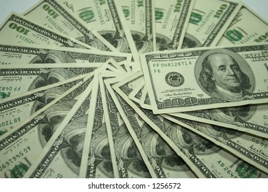 100 dollar bill spiral 2
