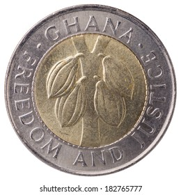 From Show Inv 50 /& BI-METAL 100 CEDIS - 2 NICE COINS from GHANA BOTH 1999