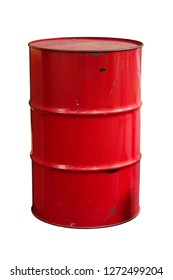 100 liter fuel tank isolated with clipping path
