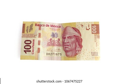 $100 Mexican pesos bill