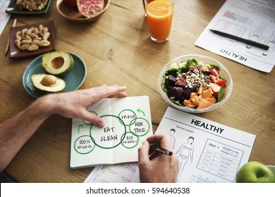 100% Natural Nutrion Healthy Eating Life