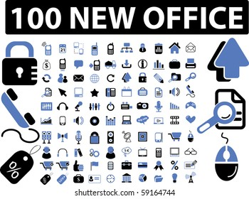100 new office signs