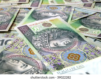 100 PLN Zloty Banknotes