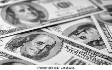 100 Usd banknotes