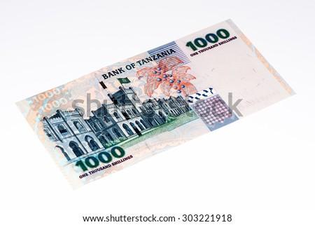 1000 Tanzanian Shillings Bank Note Tanzanian Stock Photo Edit Now