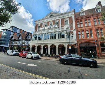 10/02/2019 Portsmouth, Hampshire, UK the new theatre royal exterior in Portsmouth UK