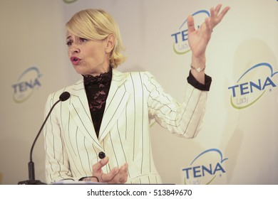 10-11-2016- Madrid- Spain- Delivery of the IV Tena Lady prize to women who succeed. Esther Arroyo