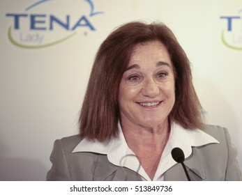 10-11-2016- Madrid- Spain- Delivery of the IV Tena Lady prize to women who succeed. Blanca Fernandez Ochoa