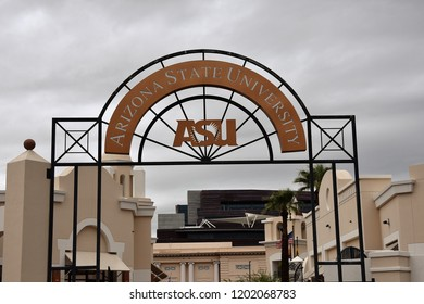 10/13/18 Phoenix Arizona Arizona State University downtown campus